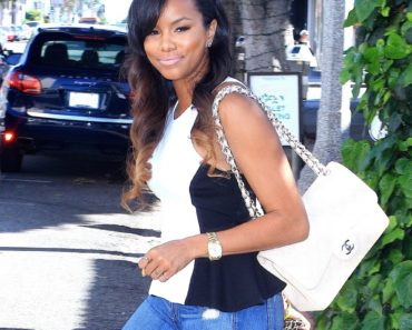 LeToya Luckett Sighted Departing The Ivy's on Robertson Boulevard in Los Angeles on April 19, 2013