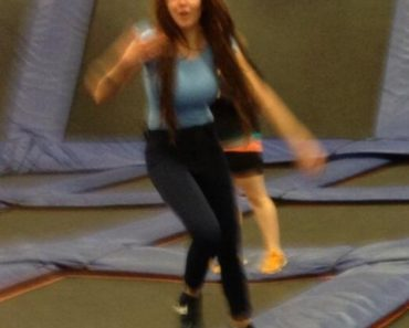 Amanda at Skyzone
