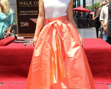 Jennifer Lopez Honored with the 2,500th Star on the Hollywood Walk of Fame on June 20, 2013