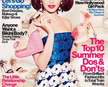 Lily Collins Glamour Magazine (1)