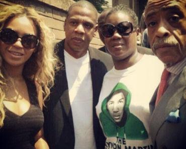 Beyonce-Jay Z Trayvon Martin