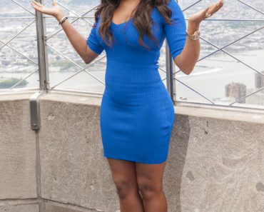 Empire State Building Hosts Mel B in New York City on July 25, 2013