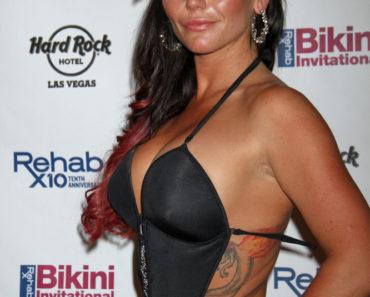 "Jenni ""JWoww"" Farley Hosts Rehab Bikini Invitational at Rehab Pool in Las Vegas on July 7, 2013"
