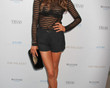 Chrissy Teigen Hosts Vegas Magazine's Summer Issue at Azure Luxury Pool in Las Vegas on July 24, 2013
