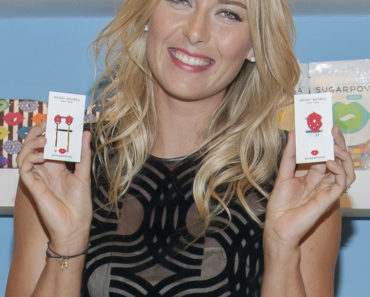 Maria Sharapova Launches Sugarpova Accessories at Henri Bendel in New York City on August 20, 2013