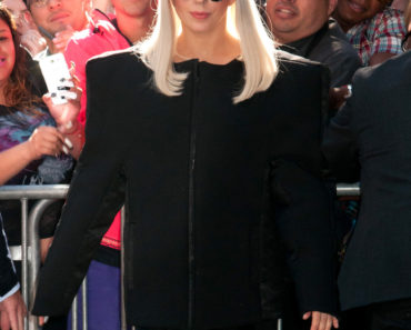 "Lady Gaga Sighted Departing ABC's ""Good Morning America"" at ABC Studios in New York City on September 9, 2013"