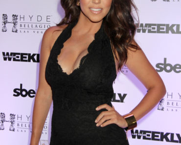 Labor Day Weekend Bash Hosted by Kourtney Kardashian at Hyde Nightclub in Las Vegas on August 31, 2013