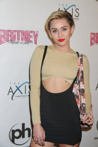 PRN 106798 333x500 Miley Cyrus Fan Arrested For Sneaking Into Her Dressing Room!