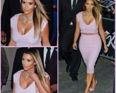 Kim in pink