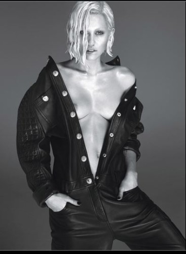 Miley V Magazine 3 367x500 Miley Cyrus Naked For W Magazine Cover!