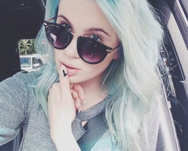 Ireland Blue Hair