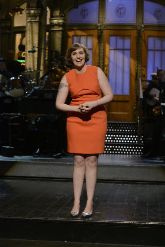 NUP 163116 0020 333x500 Lena Dunham Got Naked On SNL Of Course