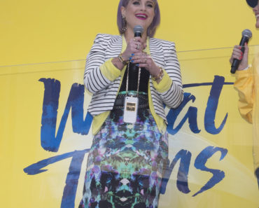 "Kelly Osbourne Debuts Wheat Thins ""Popped"" in New York City on April 9, 2014"