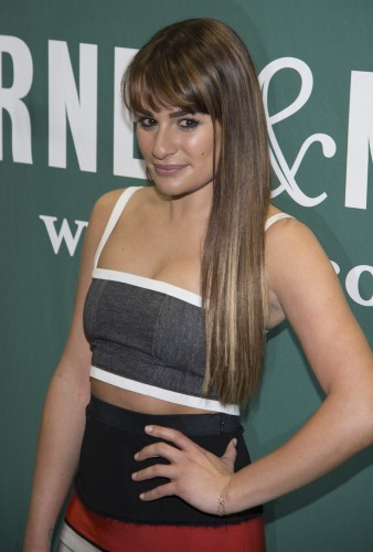 "Lea Michele's ""Brunette Ambition"" Book Signing at Barnes & Noble in New York City on May 21, 2014"