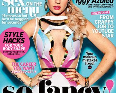 Iggy on Cosmopolitan