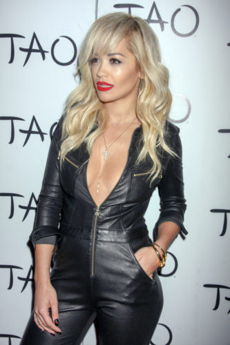 Rita Ora Hosts the Night at Tao Nightclub in Las Vegas on July 26, 2014