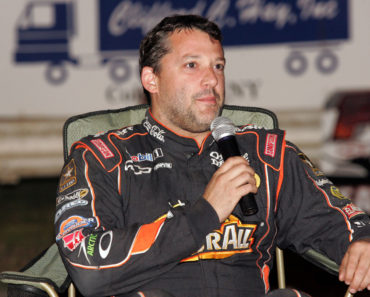2012 Dirt Racing - Tony Stewart with the All Star Circuit of Champions 410 Sprints at Fonda Speedway - July 19, 2012