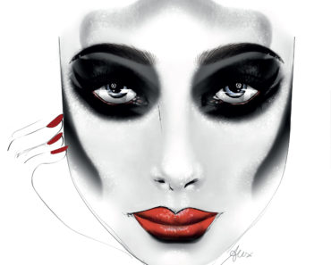 Illamasqua - Halloween Facecharts - CK170714