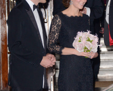 The Duke and Duchess of Cambridge Attend the Royal Variety Performance at the London Palladium on November 13, 2014