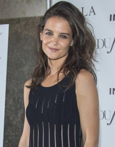 Dujour Magazine Fall Issue Celebration Featuring Katie Holmes in New York City