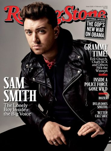 Sam Smith Rolling Stone Cover