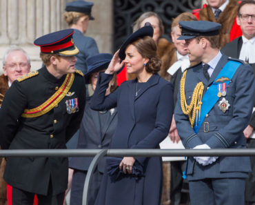 A Service of Commemoration Afghanistan - British Royals Honor Afghan War Heroes - March 13, 2015