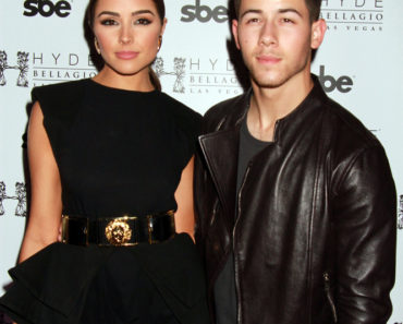 04/25/2015 - Olivia Culpo and Nick Jonas - Hyde Bellagio Celebrates 3 Years on the Las Vegas Strip with Special Host Nick Jonas - Hyde Bellagio Nightclub, Bellagio Hotel & Casino - Las Vegas, NV, USA - Keywords: Actress Olivia Culpo and singer Nick Jonas arrive, the Jonas Brothers, Vertical, Arts Culture and Entertainment, Celebrity, Celebrities, Nevada Orientation: Portrait Face Count: 1 - False - Photo Credit: PRN / PRPhotos.com - Contact (1-866-551-7827) - Portrait Face Count: 1