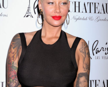 05/22/2015 - Amber Rose - Amber Rose Hosts Memorial Day Kick-off at Chateau Nightclub in Las Vegas on May 22, 2015 - Chateau Nightclub Paris Hotel & Casino - Las Vegas, NV, USA - Keywords: Vertical, Tattoo, Tattoos, Hoop Earrings, Jewelry, Red Carpet Event, Nevada, Arts Culture and Entertainment, Attending, Celebrities, Model, Celebrity Orientation: Portrait Face Count: 1 - False - Photo Credit: PRN / PRPhotos.com - Contact (1-866-551-7827) - Portrait Face Count: 1