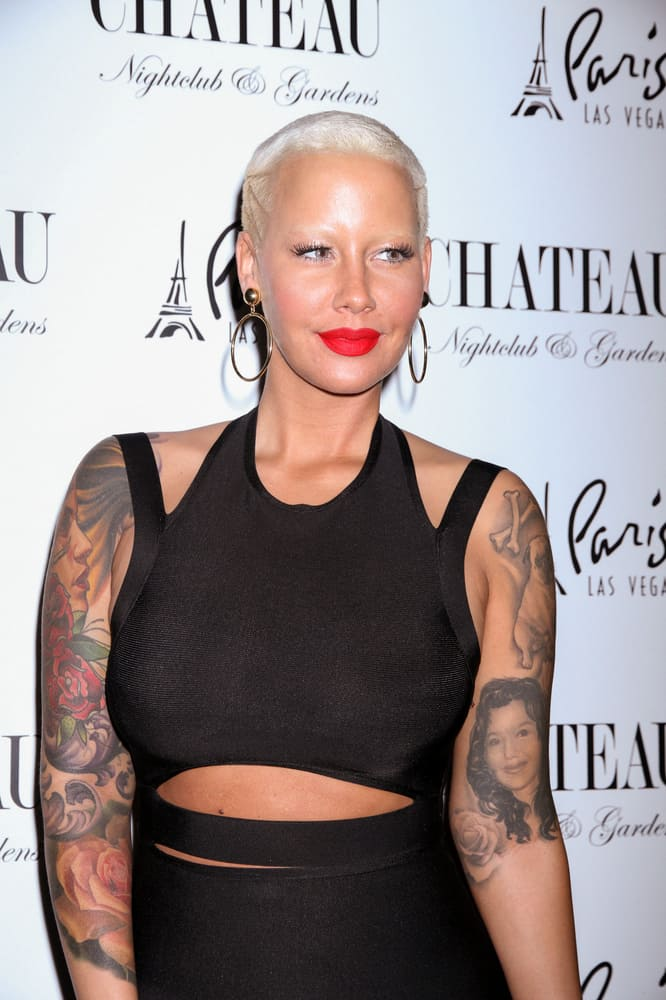 Who is amber rose currently hookup