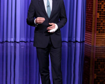 THE TONIGHT SHOW STARRING JIMMY FALLON -- Episode 0289 -- Pictured: Host Jimmy Fallon during the monologue on July 13, 2015 -- (Photo by: Douglas Gorenstein/NBC)