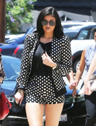 Kardashian/Jenner Family Sighted at Hollywood Pantages Theatre in Los Angeles on July 26, 2015