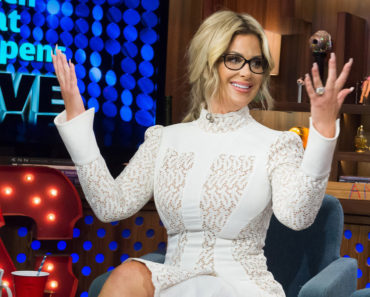 WATCH WHAT HAPPENS LIVE -- Episode 12137 -- Pictured: Kim Zolciak-Biermann -- (Photo by: Charles Sykes/Bravo)
