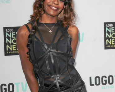 04/13/2013 - Azealia Banks - 6th Annual Logo NewNowNext Awards - Arrivals - The Fonda Theatre - Los Angeles, CA, USA - Keywords:  Orientation: Portrait Face Count: 1 - False - Photo Credit: Andrew Evans  / PR Photos - Contact (1-866-551-7827) - Portrait Face Count: 1