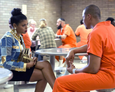 EMPIRE: Taraji P. Henson as Cookie Lyon and Terrence Howard as Lucious Lyon in the ÒThe Devils Are HereÓ Season Two premiere episode of EMPIRE airing Wednesday, Sept. 23 (9:00-10:00 PM ET/PT) on FOX.  ©2015 Fox Broadcasting Co. Cr: Chuck Hodes/FOX.