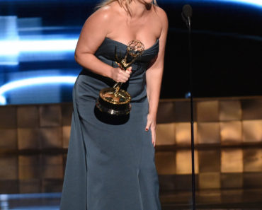67TH PRIMETIME EMMY® AWARDS:  ???Inside Amy Schumer??? cast member Amy Schumer receives the Outstanding Variety Sketch Series Award at the 67TH PRIMETIME EMMY® AWARDS at the Microsoft Theatre L.A. Live in Los Angeles, CA, on Sunday, Sept. 20 on FOX.  CR: Michael Becker/FOX  © 2015 FOX BROADCASTING