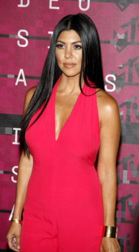 08/30/2015 - Kourtney Kardashian - 2015 MTV Video Music Awards - Arrivals - Microsoft Theater - Los Angeles, CA, USA - Keywords:  Orientation: Portrait Face Count: 1 - False - Photo Credit: David Gabber / PRPhotos.com - Contact (1-866-551-7827) - Portrait Face Count: 1