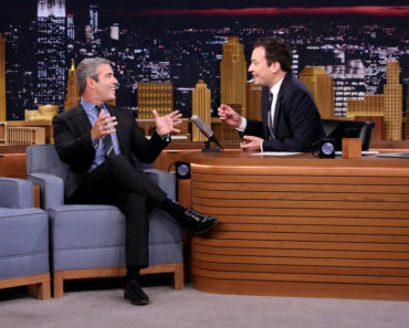 THE TONIGHT SHOW STARRING JIMMY FALLON -- Episode 0340 -- Pictured: (l-r) Television personality Andy Cohen during an interview with host Jimmy Fallon on September 30, 2015 -- (Photo by: Douglas Gorenstein/NBC)