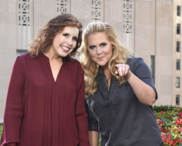 "SATURDAY NIGHT LIVE -- ""Amy Schumer"" Episode 1685 -- Pictured: (l-r) Vanessa Bayer, Amy Schumer on October 6, 2015 -- (Photo by: Dana Edelson/NBC)"