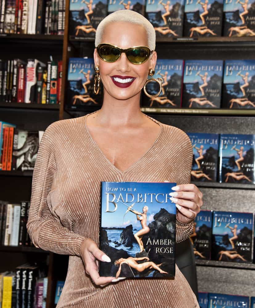 "10/27/2015 - Amber Rose - Amber Rose ""How To Be A Bad Bitch"" Book Signing at Barnes & Noble in Philadelphia - October 27, 2015 - Barnes & Noble - Philadelphia, PA, USA - Keywords: Half Length Shot, 1/2 Length Shot, Amber Rose, American, Actor, Actress, Model, Author, Fashion Designer, Fashion, Designer, Hip Hop, Entertainment Orientation: Portrait Face Count: 1 - False - Photo Credit: Paul Froggatt / PR Photos - Contact (1-866-551-7827) - Portrait Face Count: 1"