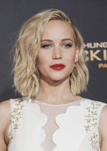 "11/16/2015 - Jennifer Lawrence - ""The Hunger Games: Mockingjay - Part 2"" Los Angeles Premiere - Arrivals - Microsoft Theater - Los Angeles, CA, USA - Keywords:  Orientation: Portrait Face Count: 1  Headshot - False - Photo Credit: David Gabber / PRPhotos.com - Contact (1-866-551-7827) - Portrait Face Count: 1"