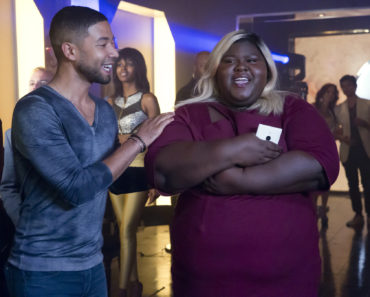 EMPIRE: L-R: Jussie Smollett and Gabourey Sidibe in the ÒA High Hope For A Low HeavenÓ episode of EMPIRE airing Wednesday, Nov. 4 (9:00-10:00 PM ET/PT) on FOX. ©2015 Fox Broadcasting Co. Cr: Chuck Hodes/FOX.