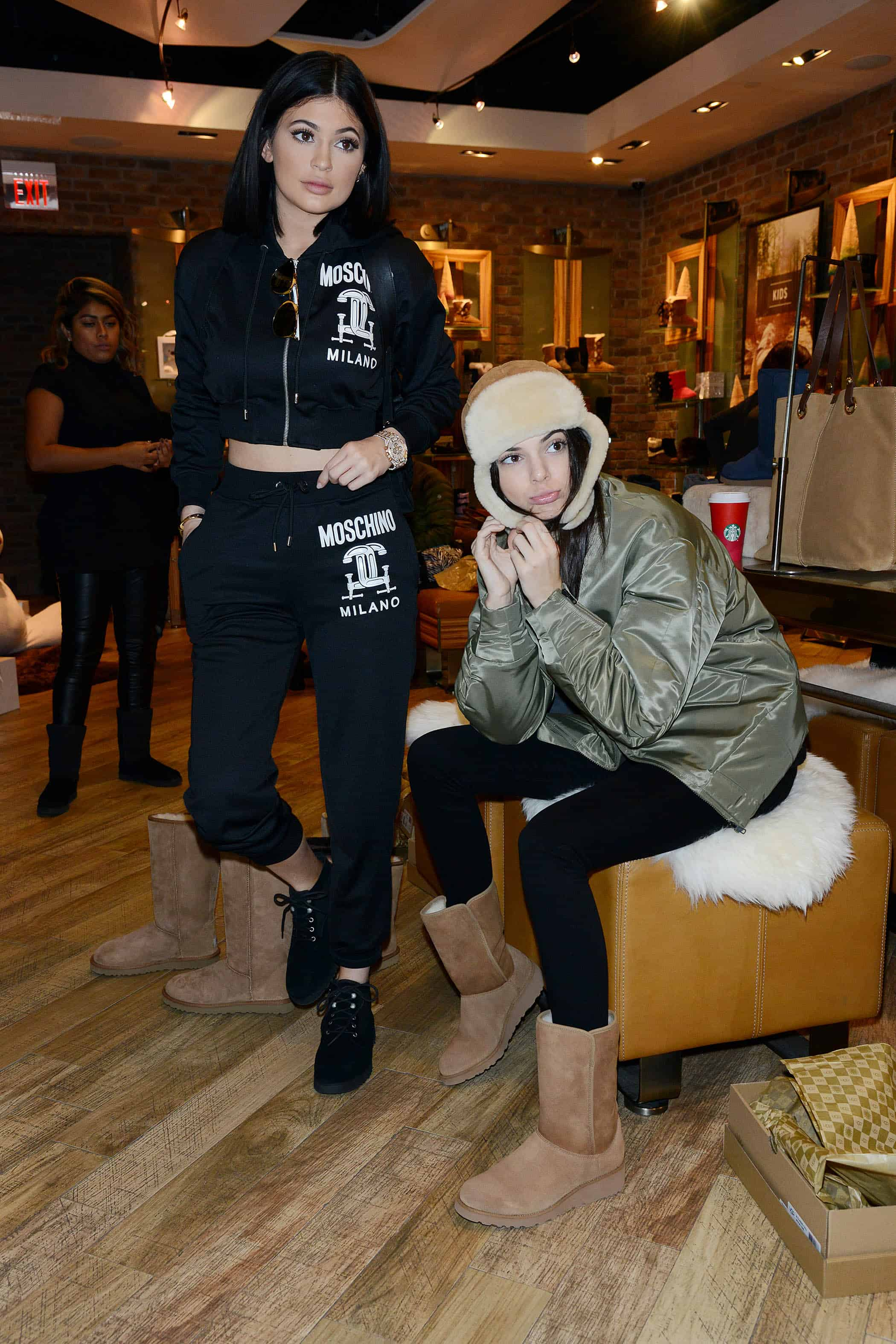 Kendall and Kylie Jenner Spotted At NYC Ugg Store ...