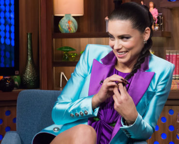WATCH WHAT HAPPENS LIVE -- Episode 12196 -- Pictured: Adriana Lima -- (Photo by: Charles Sykes/Bravo)