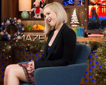 WATCH WHAT HAPPENS LIVE -- Episode 12207 -- Pictured: Jennifer Lawrence -- (Photo by: Charles Sykes/Bravo)
