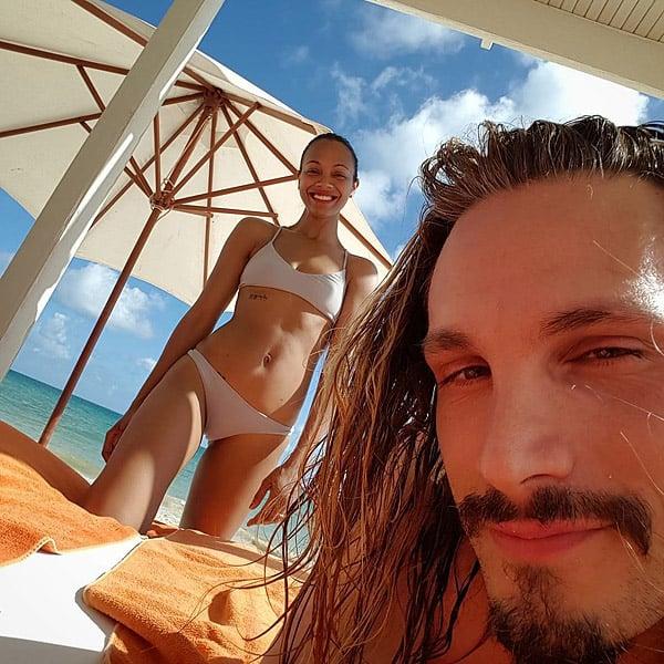 Zoe Saldana Bikini Pics 109