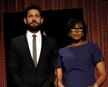 01/14/2016 - John Krasinski and Cheryl Boone Isaacs - 88th Oscars Nominations Announcement - Academy Of Motion Picture Arts And Sciences - Beverly Hills, CA, USA - Keywords:  Orientation: Landscape Face Count: 2 - False - Photo Credit: David Gabber / PRPhotos.com - Contact (1-866-551-7827) - Landscape Face Count: 2