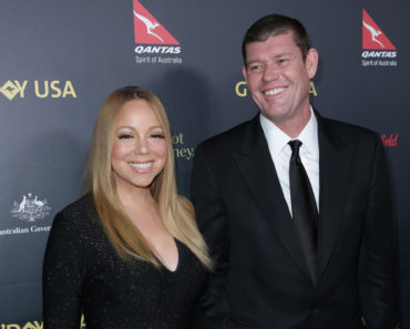 01/29/2016 - Mariah Carey, James Packer - 2016 G'Day Los Angeles Gala - Arrivals - Vibiana - Los Angeles, CA, USA - Keywords: Vertical, Red Carpet Even, Person, People, Arrival, Portrait, Photography, Film Industry, Arts Culture and Entertainment, Gala, Celebrity, Celebrities, Vibiana, Topix, G'Day USA 2016 Black Tie Gala, Bestof Orientation: Portrait Face Count: 1 - False - Photo Credit: PRPhotos.com - Contact (1-866-551-7827) - Portrait Face Count: 1