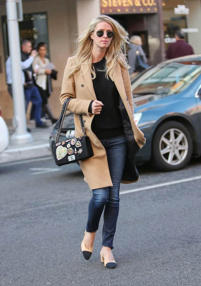 01/07/2016 - Nicky Hilton - Nicky Hilton Sighted in Los Angeles on January 7, 2016 - Street - Los Angeles, CA, USA - Keywords: Nicky Hilton Rothschild, Nicky Rothschild, American fashion designer, socialite, model, Full Length Shot, Vertical, California, Person, People, Photography, Arts Culture and Entertainment, Celebrities, Celebrity Sightings, Candid on the Street, Walking Orientation: Portrait Face Count: 1 - False - Photo Credit: STPR / PRPhotos.com - Contact (1-866-551-7827) - Portrait Face Count: 1