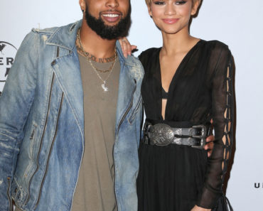 02/15/2016 - Odell Beckham Jr., Zendaya - Universal Music Group's 2016 Grammy Afterparty - Arrivals  - The Theatre at the Ace Hotel - Los Angeles, CA, USA - Keywords: NFL player, National Football League, Man, Vertical, Red Carpet Arrival, Music, Portrait, Photography, After Party, Grammy Awards, Arts Culture and Entertainment, Attending, Person, People, Celebrities, Celebrity, UMG, Grammy Party, Theater, Ace Hotel Downtown Los Angeles, California Orientation: Portrait Face Count: 2 - False - Photo Credit: PRPhotos.com - Contact (1-866-551-7827) - Portrait Face Count: 2