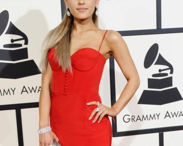 02/15/2016 - Ariana Grande - The 58th GRAMMY Awards - Arrivals - Staples Center - Los Angeles, CA, USA - Keywords: Orientation: Portrait Face Count: 1 - False - Photo Credit: David Gabber / PRPhotos.com - Contact (1-866-551-7827) - Portrait Face Count: 1